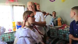 ГУЦУЛЬСЬКАЯ СВАДЬБА В РУМЫНИИ. 09.08.2016.   LA O NUNTĂ A HUȚULILOR DIN ROMÂNIA. 09/08/2016.