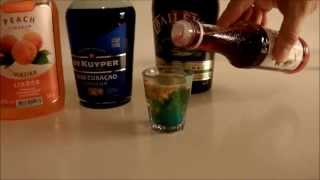 Easy Cocktails And Shots Tutorial (alien Brain Hemorrhage, The Mizu Shot Of Wonder Etc)