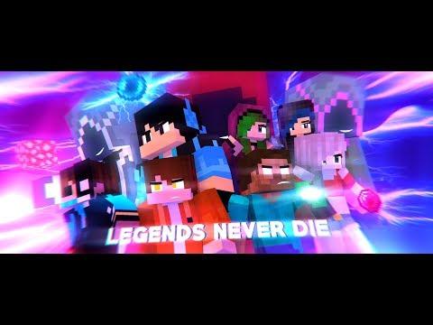 "♪ ""Legends Never Die"" ♪ - An Original Minecraft Animation - [S3 FINALE]"