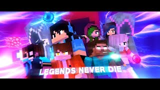 ♪ Andquotlegends Never Dieandquot ♪ - An Original Minecraft Animation - S3 Finale