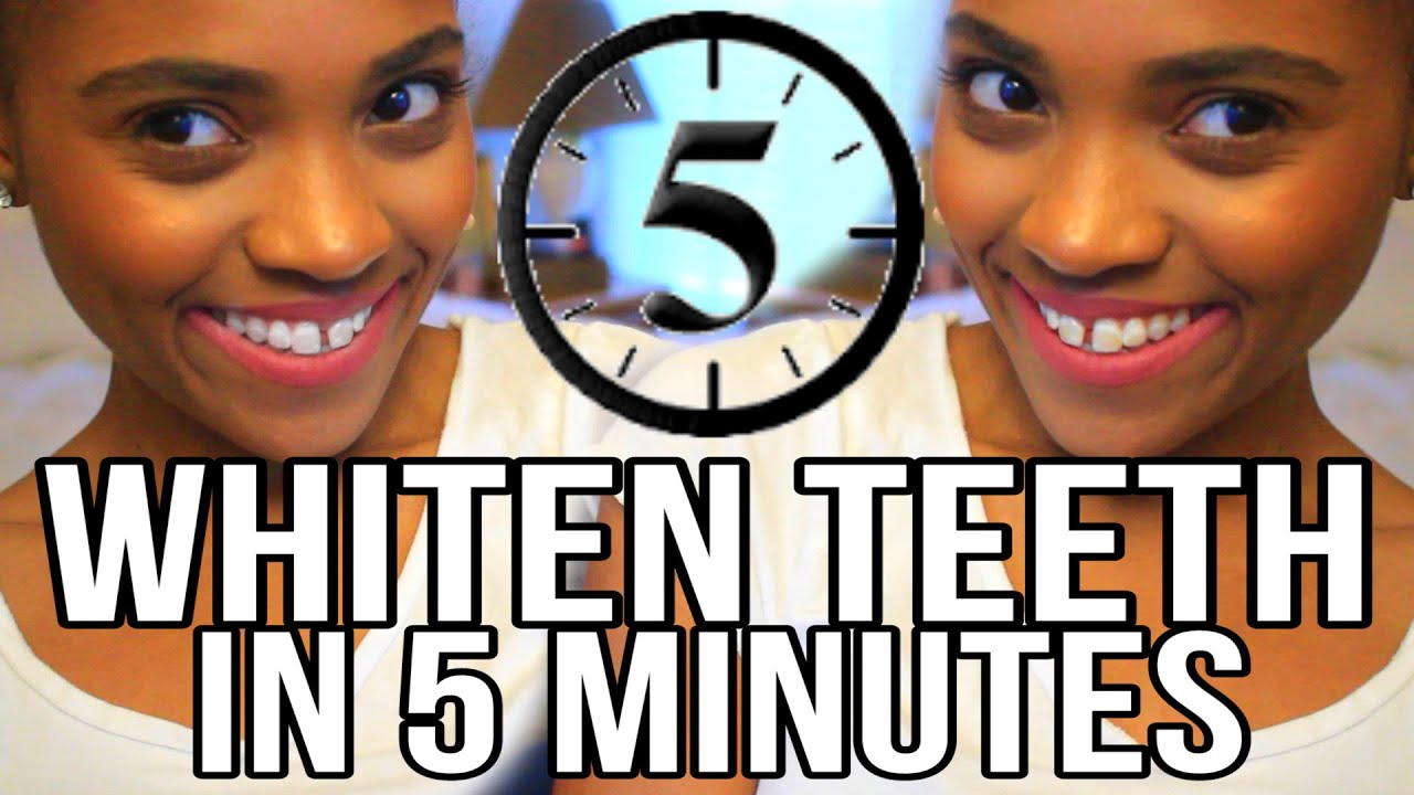 How to whiten your teeth in 5 minutes