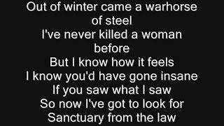 Iron Maiden - Sanctuary Lyrics