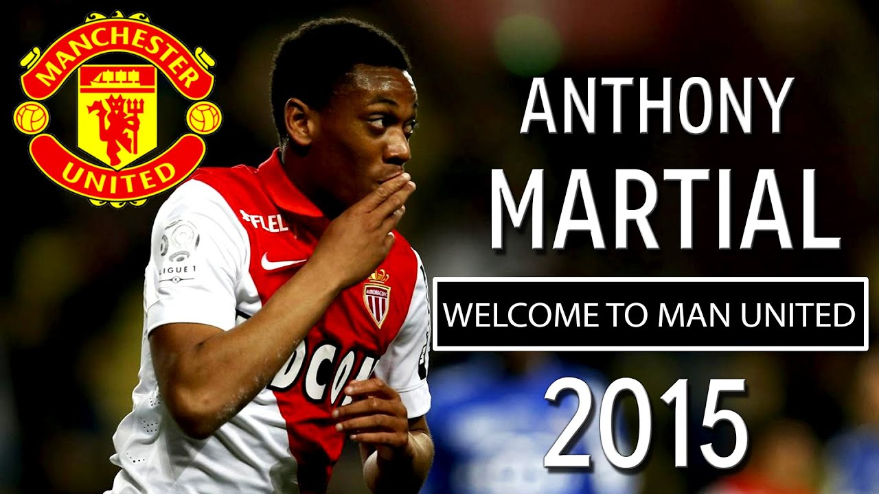 Anthony Martial - Welcome To Manchester United 2015