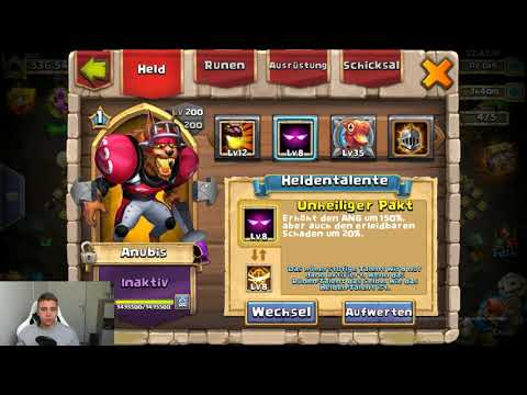 536.000 MACHT P2W ACCOUNTVORSTELLUNG! CASTLE CLASH