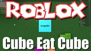 Team SBG Plays Roblox: Cube Eat Cube! (Family Multiplayer)