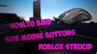 How To Use Side Mouse Buttons on Strucid! ROBLOX Strucid