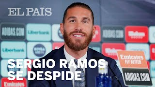 Download SERGIO RAMOS se despide entre lágrimas del REAL MADRID