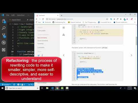 javascript.info The Modern JavaScript Tutorial 3.3 Comments thumbnail
