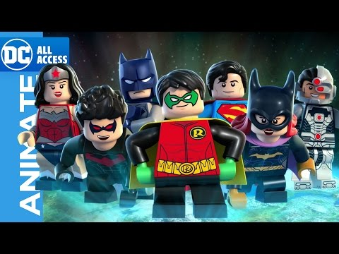 EXCLUSIVE – LEGO Justice League: Gotham City Breakout Clip