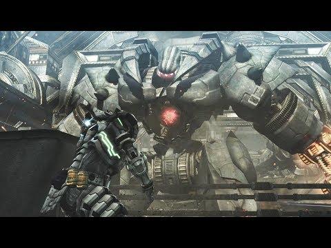 Vanquish: Argus Boss Fight (4K 60fps)