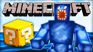 "Minecraft LUCKY BLOCK - BOSS FIGHT ""GIANT SQUID""! - w/ Ali-A!"
