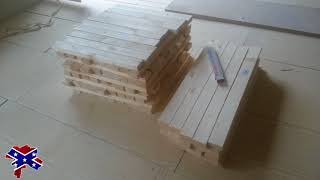 DIY Low Budget Arbeitsplatte Holz Epoxid