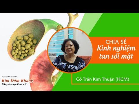 Trị sỏi mật hiệu quả không cần mổ  của cô Trần Kim Thuận | Cách Trị sỏi mật