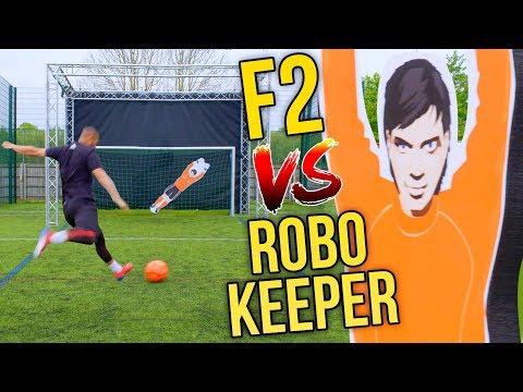 F2 VS INSANE ROBOT KEEPER!