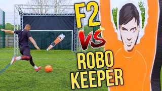 F2 VS INSANE ROBOT KEEPER! 🤖 | Billy Wingrove & Jeremy Lynch