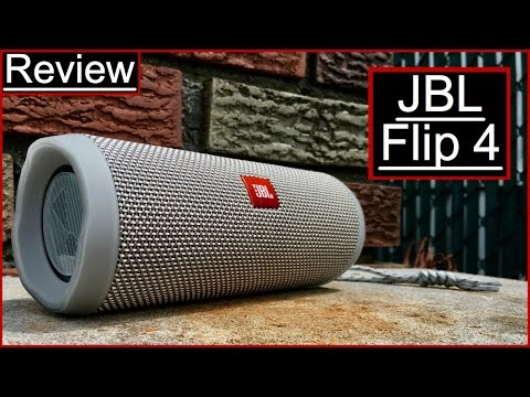 JBL Flip 4 Review Don't Underestimate This Little Guy! IT'S ON SALE!