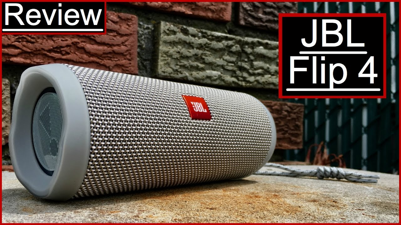 JBL Flip 4 Review Don't Underestimate This Little Guy! — GYMCADDY