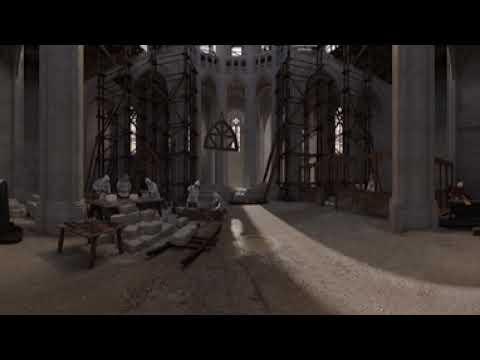 Obras interior catedral