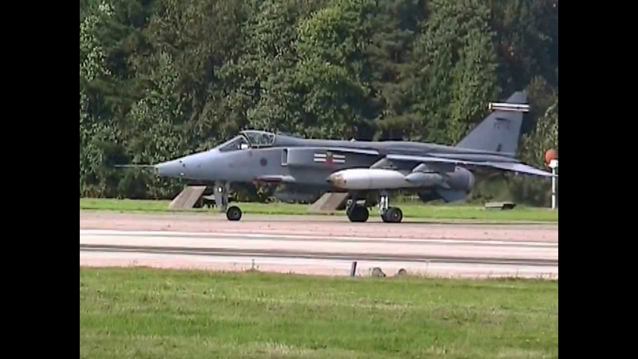 Sepecat jaguars take off at raf coltishall youtube for Jaguar house music