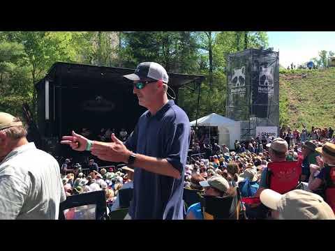 Bela Fleck, Sam Bush, Jerry Douglas, Bryan Sutton reunion jam at Merlefest 2018