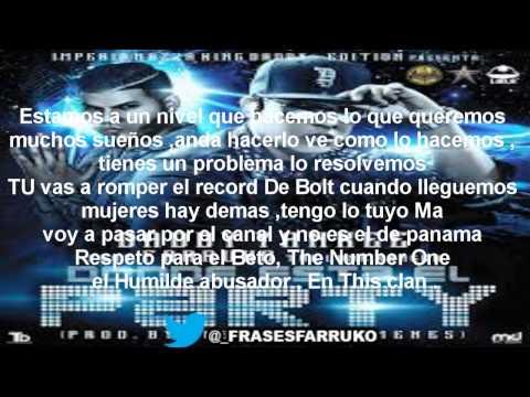 Donde Es El Party - Daddy Yankee Ft. Farruko (Letra)