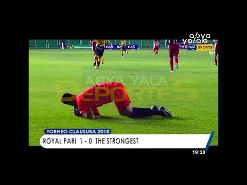 TORNEO CLAUSURA 2018: ROYAL PARI 1 - 0  THE STRONGEST