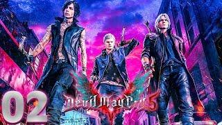Devil May Cry 5 (02) - WALKA Z GOLIATEM!