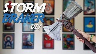 DIY Stormbraker- Como fazer o novo machado do Thor de Vingadores Guerra Infinita- Faça o Seu