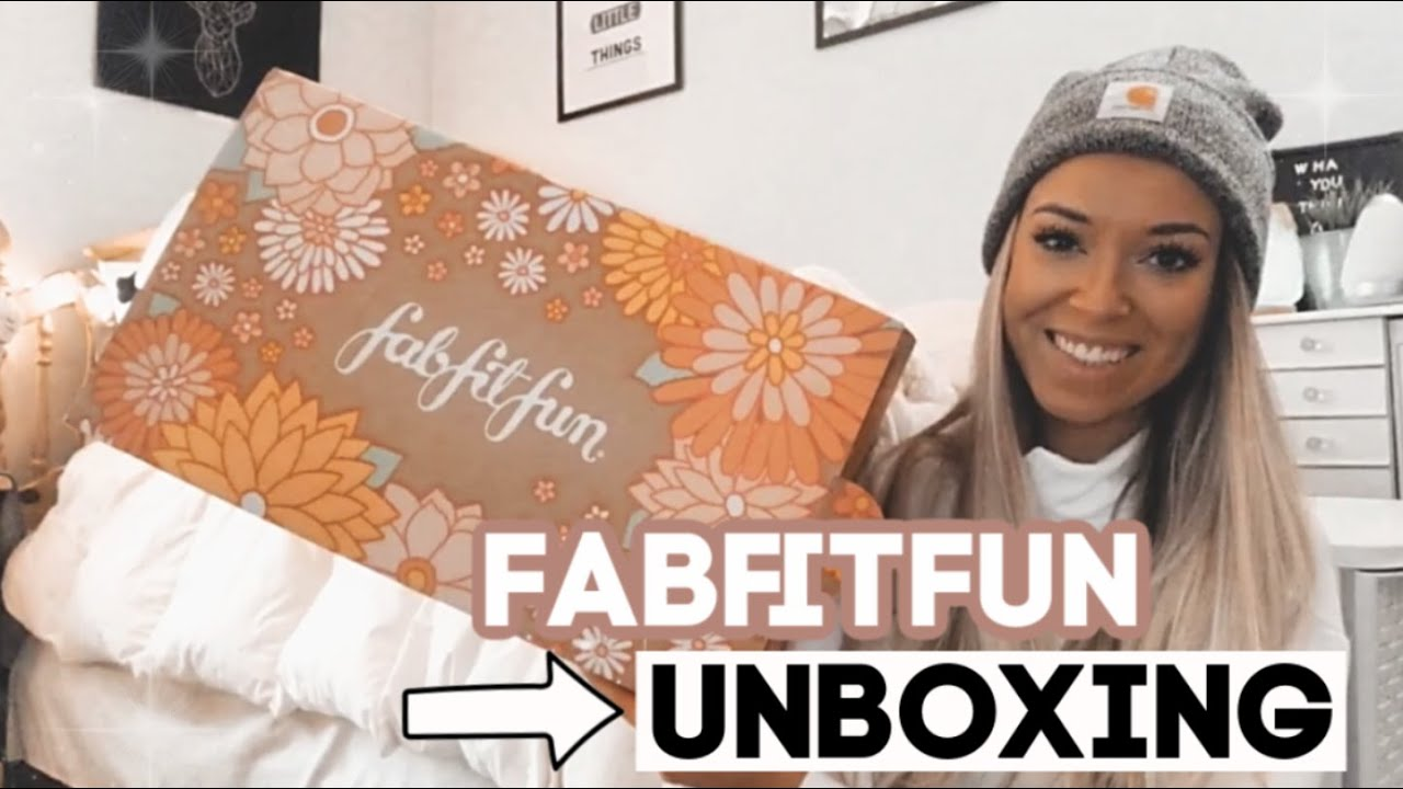 FABFITFUN SPRING 2021 UNBOXING // Whats in the Spring 2021 ...