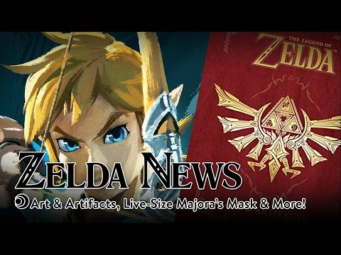 Zelda News - Encyclopedia, Life-Size Majora's Mask, & More!