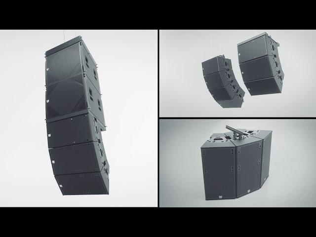 Martin Audio - TORUS - The Definitive Constant Curvature Array