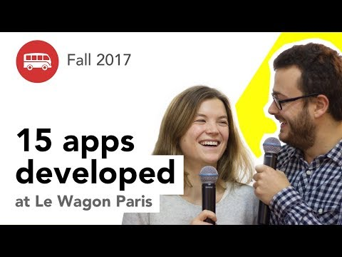 15 apps developed at Le Wagon Paris - Batches #100 & #101