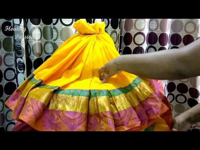 Varamahalakshmi Saree Decoration |Varamahalakshmi Vratha | Varamahalakshmi  Alankar