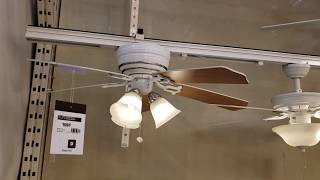"Ceiling Fan Display & 56"" Banvil Bronze Line & Canarm CP56 Industrial Ceiling Fans at The Home Depot"