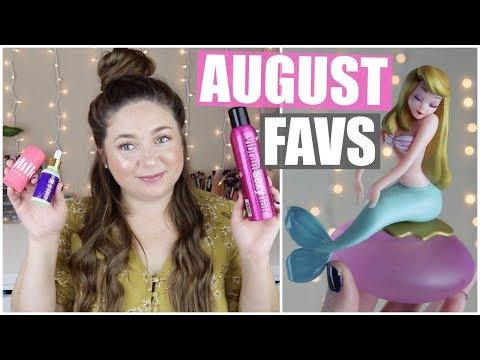 August Beauty Favorites! 2019 thumbnail