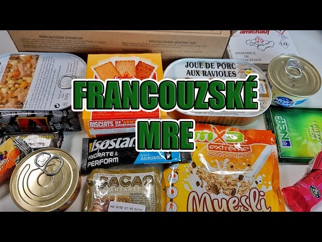 Ochutnávka Francouzského MRE - Nejluxusn?jší vojenské jídlo!?
