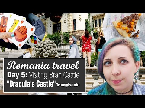 "Romania travel Day 5   Visiting ""Dracula's Castle"" / Bran Castle -Transylvania"