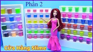 Hướng Dẫn Làm Cửa Hàng Slime Cho Búp Bê (Phần 2) Mở Rộng Shop Slime - đồ chơi trẻ