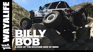 billy bob a jeep trail that takes you on a ride up the rougher side of reno