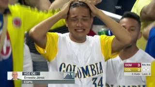 Republica Dominicana vs Colombia | 10 - 3 | Resumen - Highlights | World Baseball Classic 2017