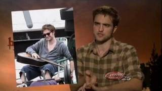 Breaking Dawn - Robert Pattinson & Taylor Lautner Interview