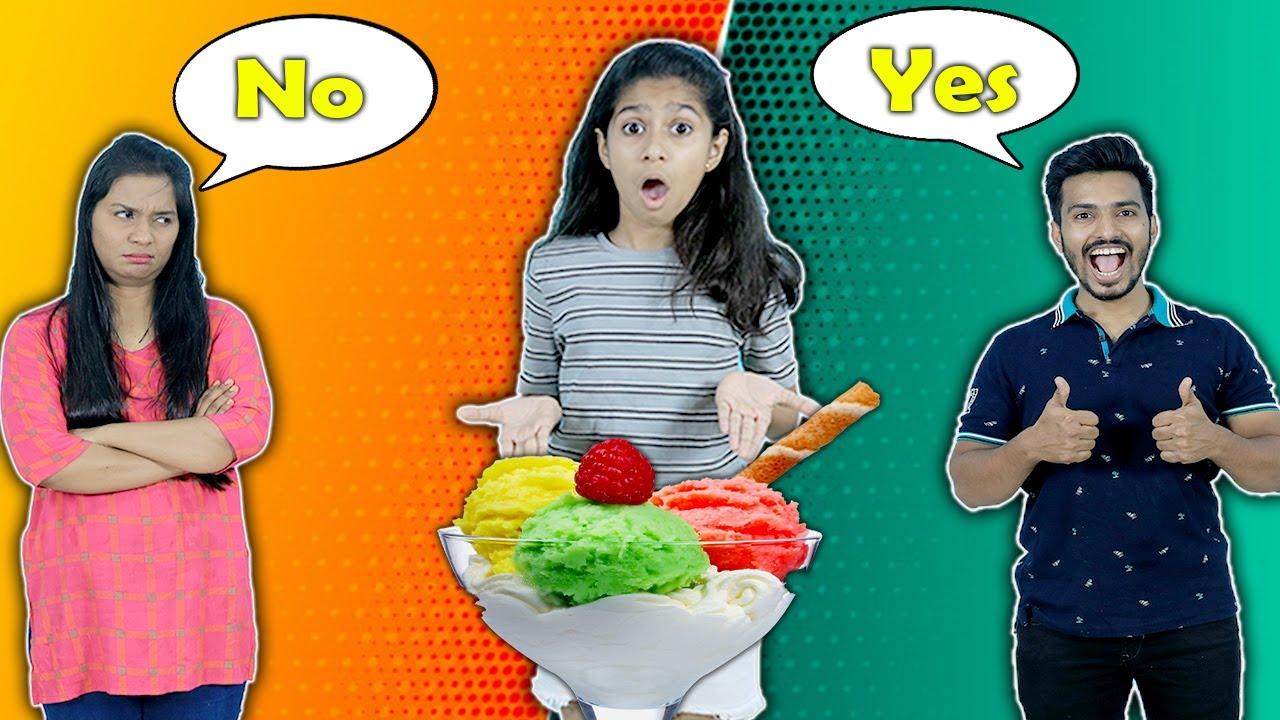 Mom Vs Dad Funny Story | Pari's Lifestyle