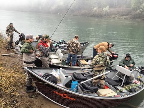 Oregon steelhead fishing trip youtube for Free fishing weekend oregon