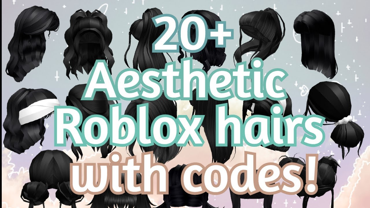 20 Aesthetic Black Hair With Codes And Links Roblox Glam Game Youtube