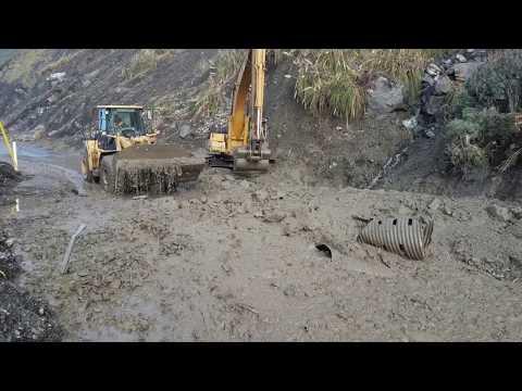 Mud Creek Slide - Caltrans News Flash #136