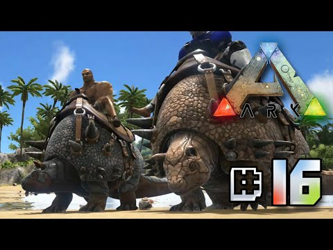 Taming Cannon Ball The Doedicurus - Ark Survival Evolved || Ep 16