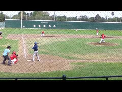 Leo Carrillo, Class of 2015, Hanford West High School Baseball - Single line drive to right