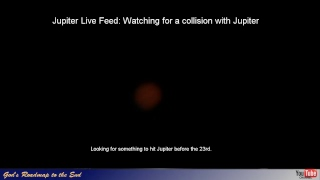 Tracking Jupiter - Seeing conditions is poor tonight.