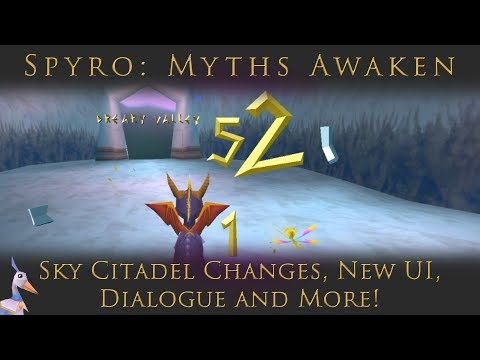 Spyro: Myths Awaken | Sky Citadel Changes, New UI, Dialogue and More!