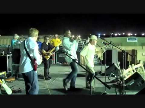 Skip Martin (formerly of Kool & The Gang) with Rock and Pop Masters (RPM) in Iraq